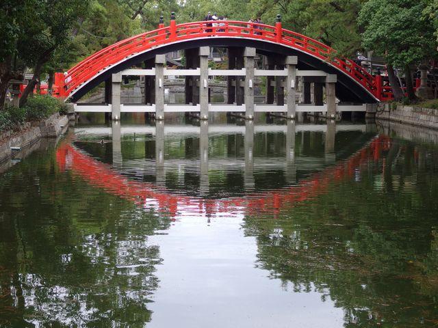 住吉大社の太鼓橋