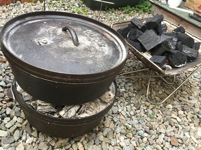 ダッチオーブンの使い方