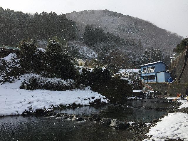 島本町 尺代 管理釣場のテンカラ釣り