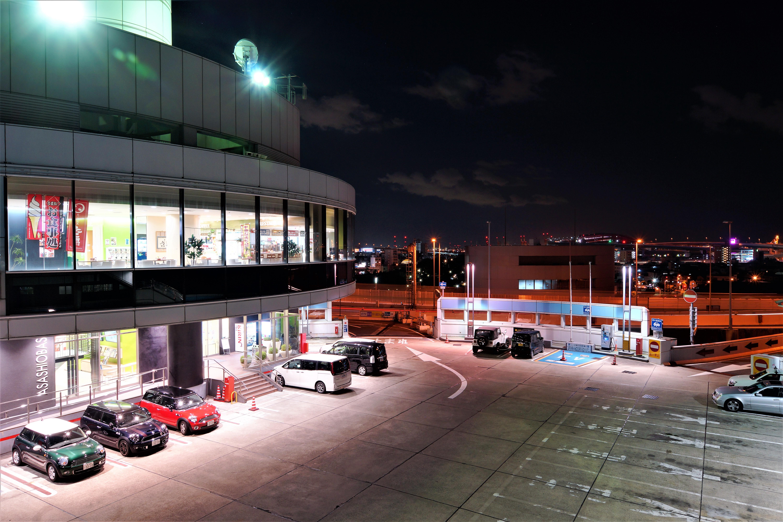 阪神高速16号大阪港線 朝潮橋パーキングエリア