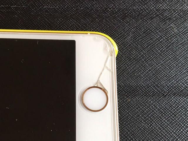 iPhoneの画面割れの修理