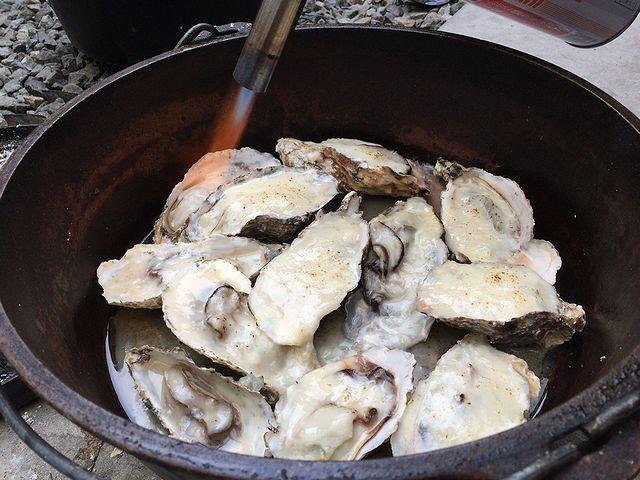 牡蠣 ホワイトソース