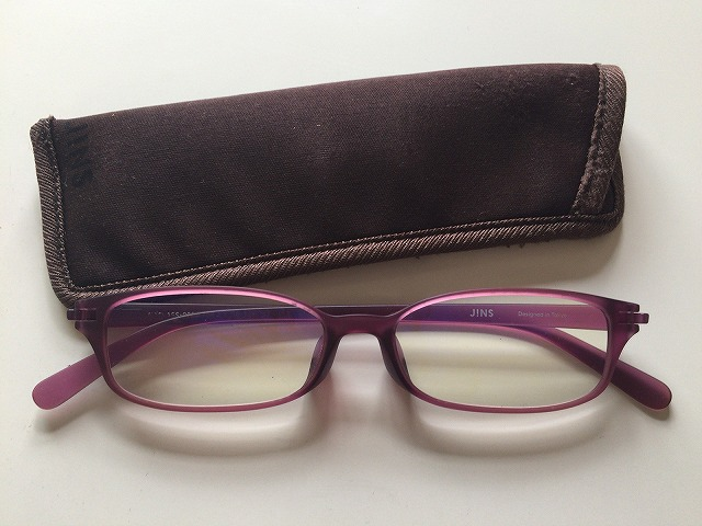 JINSの老眼鏡