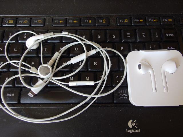 iPhoneの純正イヤホン Apple EarPods
