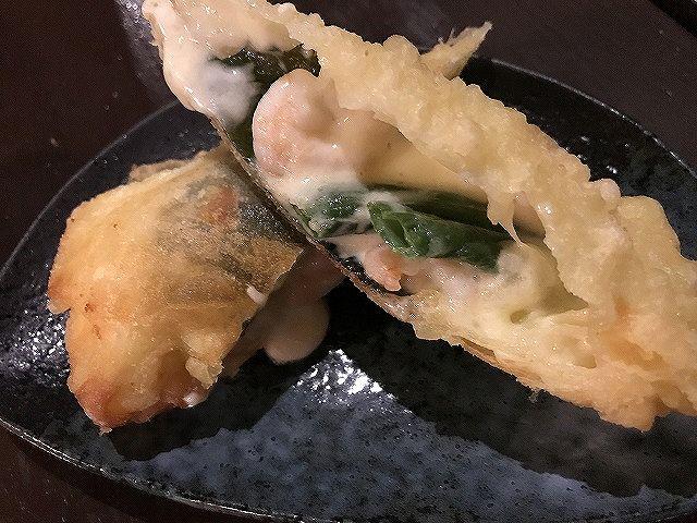 ニッポンバル  海老チーズ春巻き