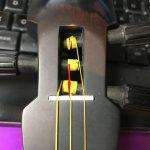 三線の弦の結び方