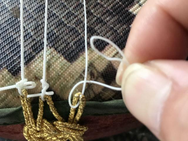 糸掛けと弦の結び方