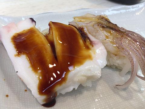 京橋 ほてい寿司 げそ