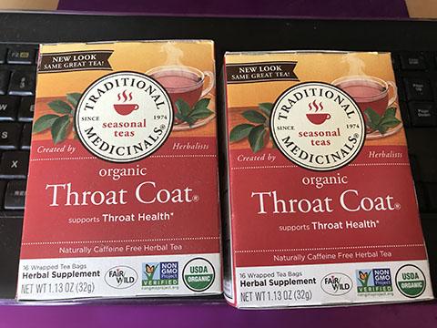 アリサン スロートコート【Throat Coat】